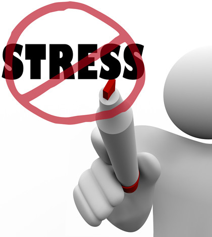 deal with stress at work